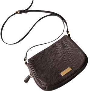 Marc by Marc Jacobs Gray/Blue Leather Crossbody